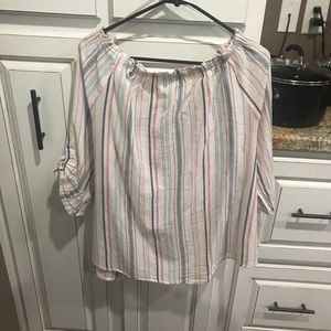 Dress Barn Tops - Dress barn used off the shoulder top size xl